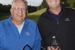 Bruce Johnston, Alan Schuermann - Championship 65 & over: First place