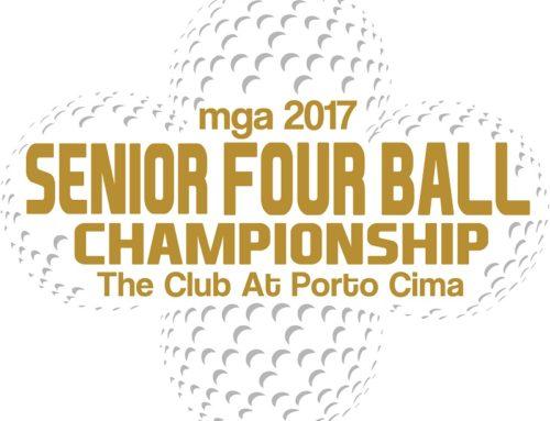 2017 Men's Senior 4 Ball Pairings