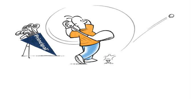 Principal Logo Golf Swing rotater_325