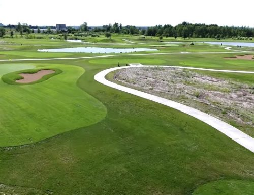 October Aerial Video of Ken Lanning GC