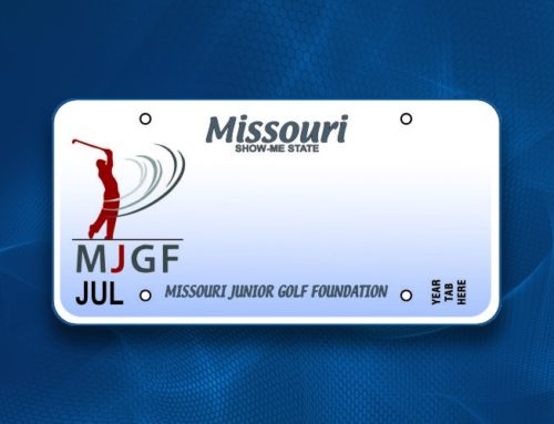 2017 Junior Golf License Plate