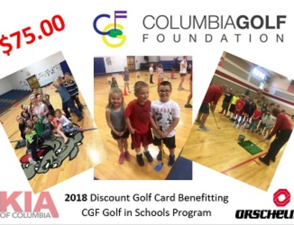 Columbia Golf Foundation Golf in Schools