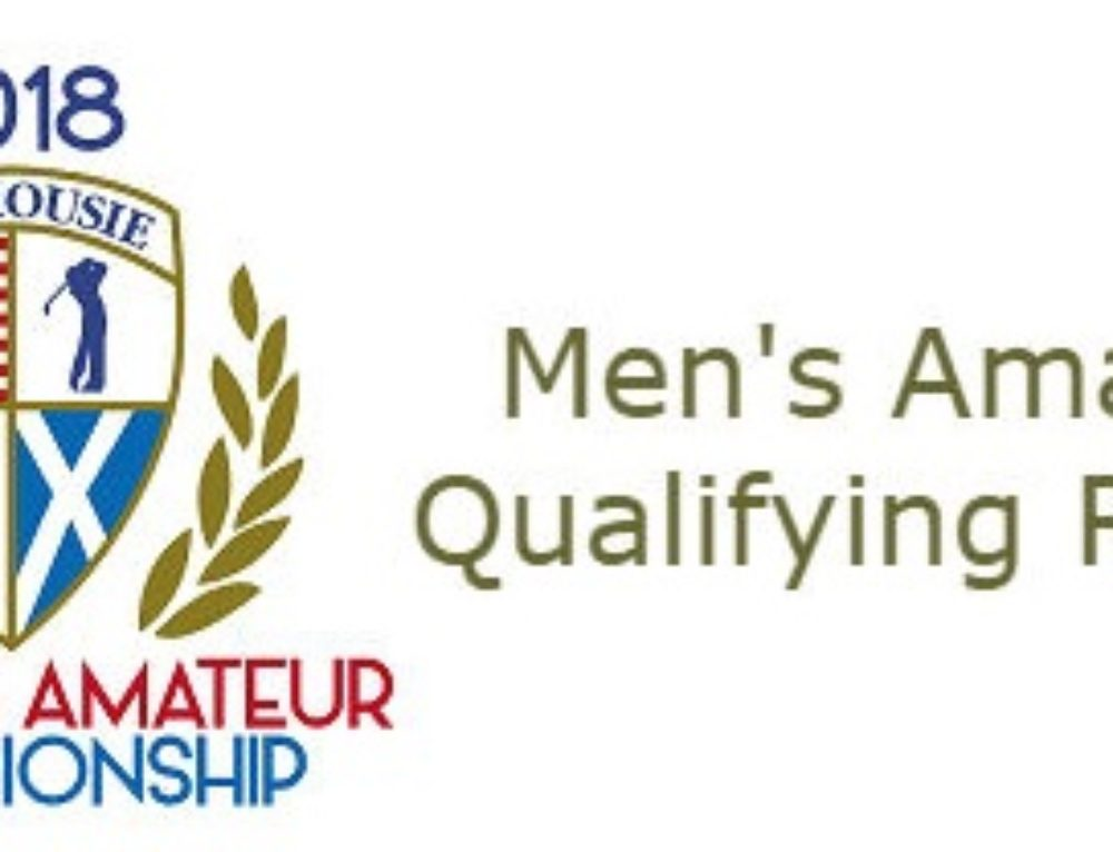State Amateur Qualifying Tee Times/Results