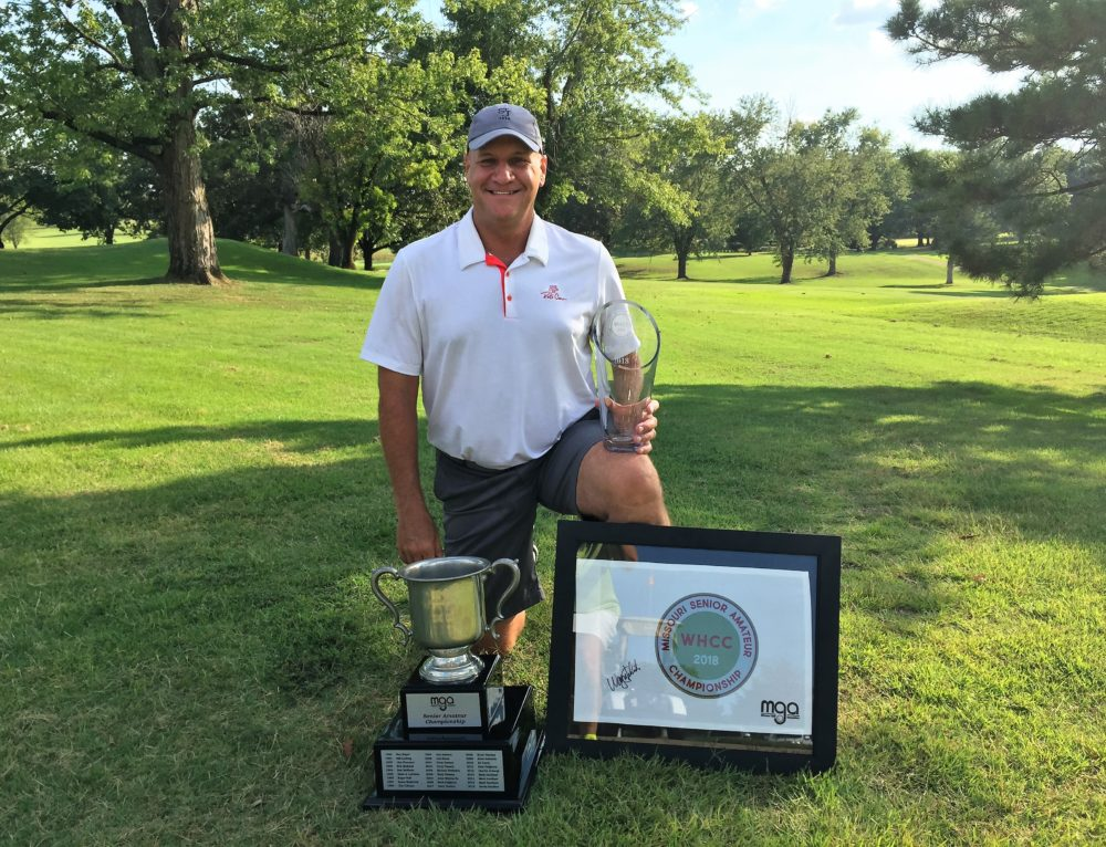Fredrick wins 29th MGA Senior Amateur Championship