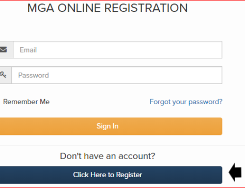 "MGA offers players a new ""event registration"" portal in 2019"