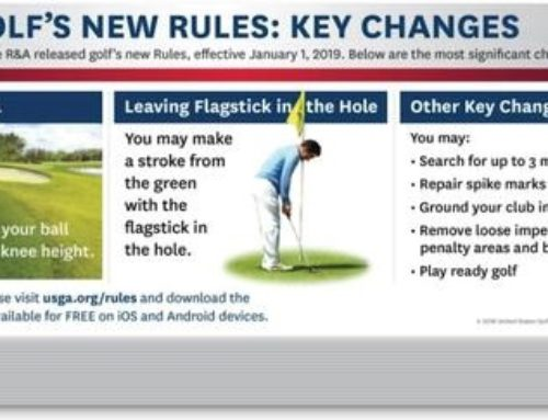 Key changes to the Rules of Golf