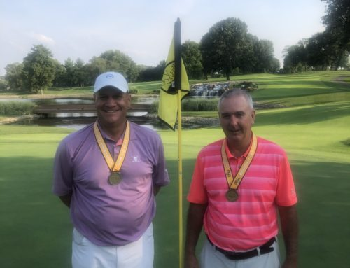 Fredrick and Haskell win Senior Four Ball